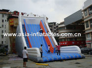 Giant Inflatable Water Slide With Single Lane For Sand Beach Games pemasok