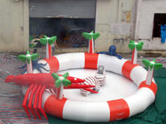 Sea Animals Theme Water Park Kids Inflatable Pool for Homeusing  pemasok