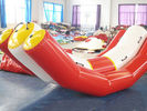 Durable Red And White Water Seesaw Inflatable Water Games For 4 People pemasok
