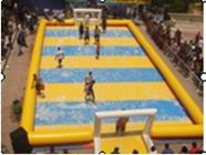 Children Inflatable Soccer Field / Inflatable Football Pitch For Coaching pemasok
