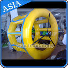 PVC Tarpaulin Inflatable Yellow Water Roller for Kids Pool Water Games pemasok