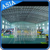 Swimming Pool / Park Transparent Inflatable Water Roller Ball pemasok