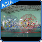 1.0mm PVC Used Land Zorbing Ball, Grass Zorb Ball With Color Strips pemasok