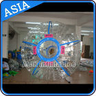 Ce Certificated Transparent Inflatable Zorb Ball In Clear With Color Stirps pemasok