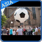 Football Helium Balloon And Blimps , Soccer Advertising Ball Inflatable Sports pemasok