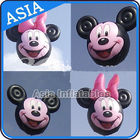Customized Helium Balloon Animal Shaped  , Cartoon Character Pink Pig Inflatable pemasok