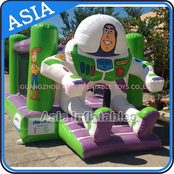 Outdoor Inflatable Toys Bouncer Jumping Castle For Children Park Games pemasok