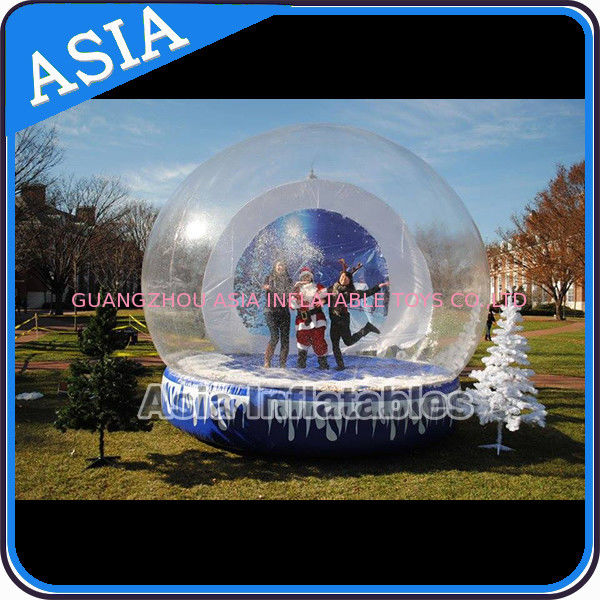 Christmas Inflatable Snow Globe Inflatable Bubble Tent Water And Fire Proof pemasok