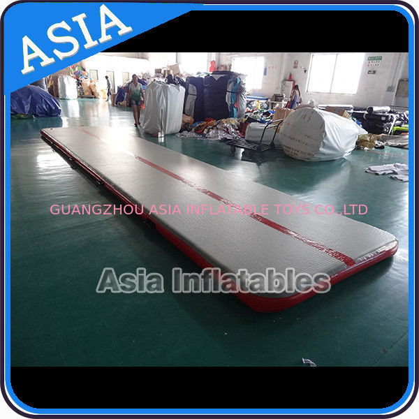 Sealed 10mL Gym Inflatable Tumble Air Mattress In Red and Gray pemasok