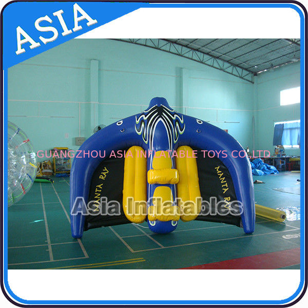 0.9mm PVC Tarpaulin Inflatable Flying Manta Ray / Fly Fish Inflatable Water Parks pemasok