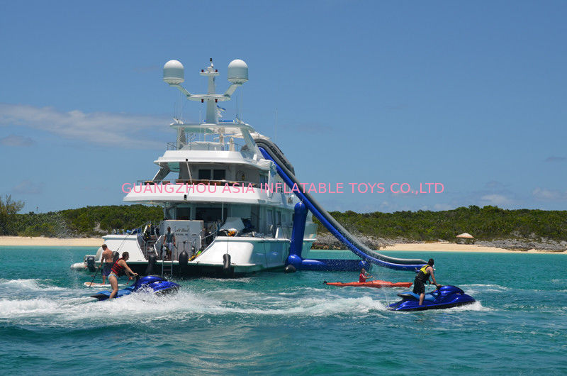 Giant Inflatable Water Sports,Inflatable Yacht Sliding Sports Games pemasok