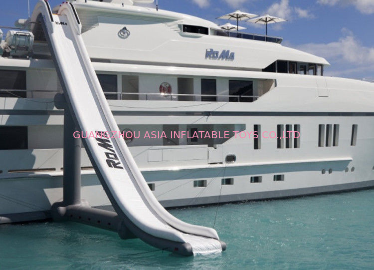 Customized Inflatable Water Sports, Inflatable Water Slide For Yacht Ship pemasok