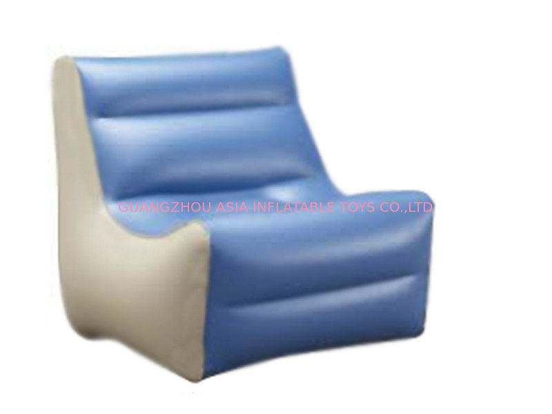 High Quality Inflatable Couch Sofa With 0.6mm Pvc Tarpaulin For 2 To 3 People pemasok