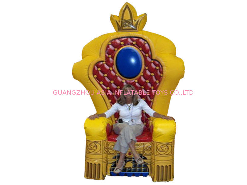 Chinese Supplier Advertising Inflatable King Chair Sofa For Chair Furniture Exhibition pemasok