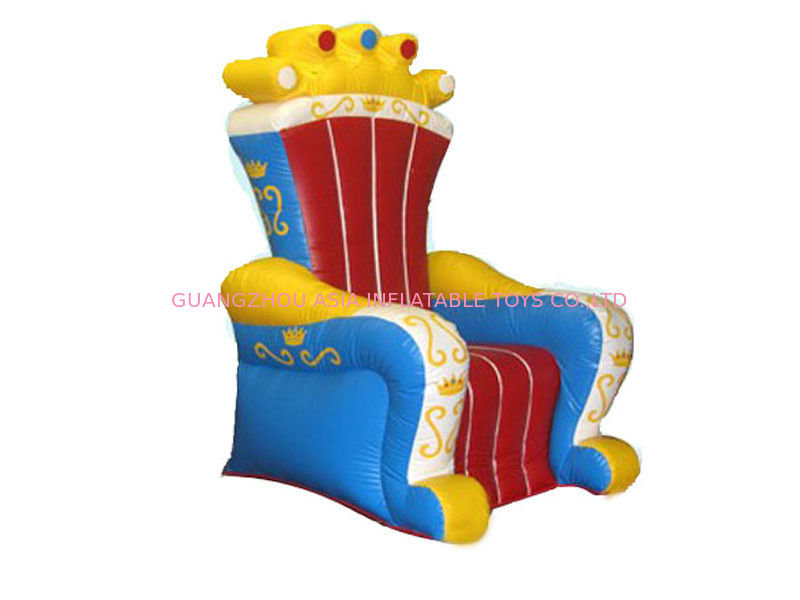 Ce Certificated Inflatable King Chair Sofa Furniture For Rental pemasok