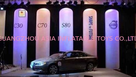 Hotsale Inflatable Pillar Lighting For Decoration With Printing Logo pemasok