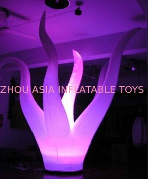 Lighting Inflatable Seaweed With Taffeta Fabric For Outdoor Party pemasok