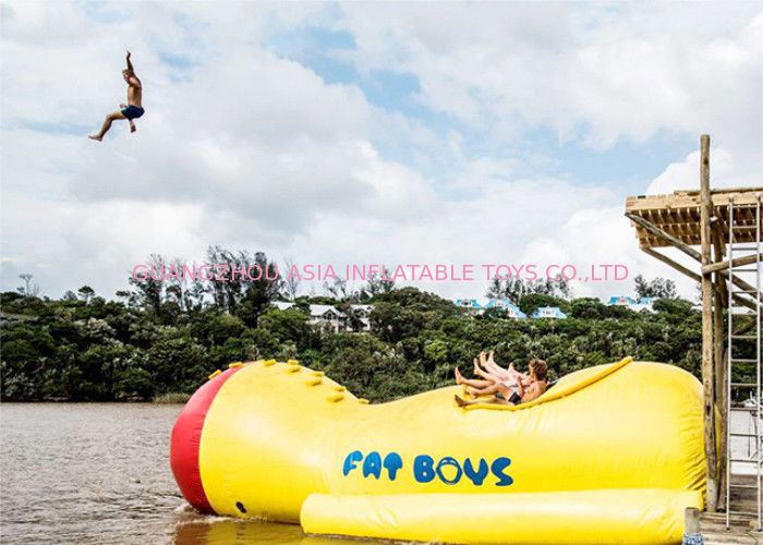 Water Parks Sports Games , Inflatable Airtight Water Blob For Water Games pemasok