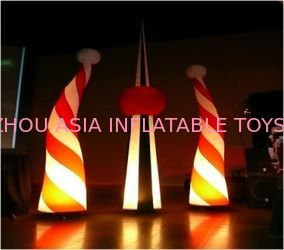 Outdoor Inflatable Lighting With Color Changing For Advertising pemasok