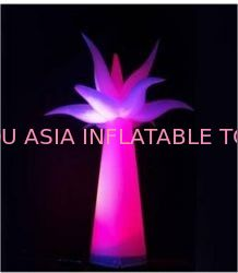 Taffeta Fabric Inflatable Lighting , Color Lights For Party pemasok