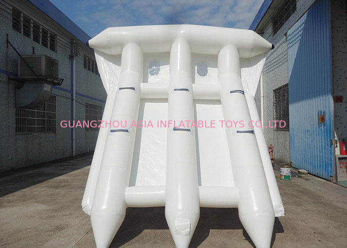 Commercial Grade Rental Towable Inflatables Water Game Flying Fish For Seashore pemasok