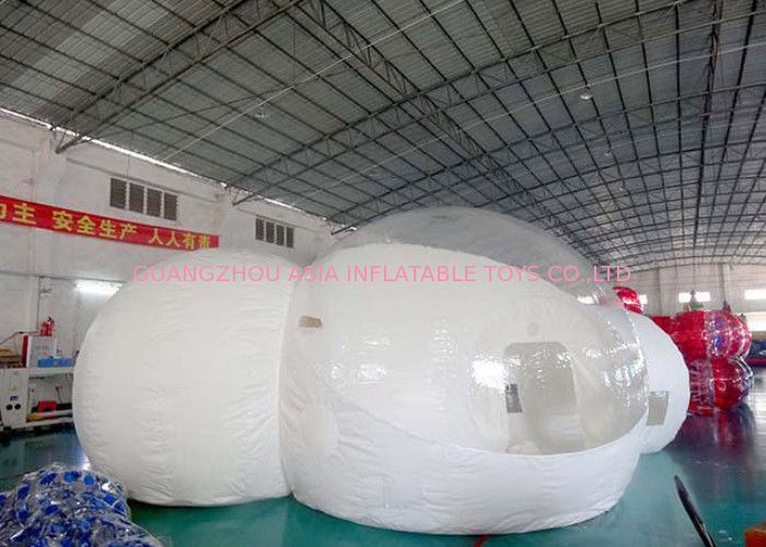 Hiqh Quality Durable Inflatable Camping Bubble Tent for sale pemasok