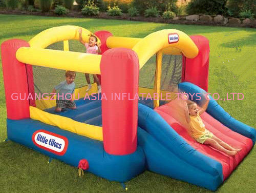 3ml Inflatable Amusement Park With Mini Bouncer For Adult And Children pemasok
