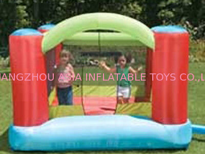 Baby Inflatable Amusement Park With Mini Bouncer With Four Cones pemasok
