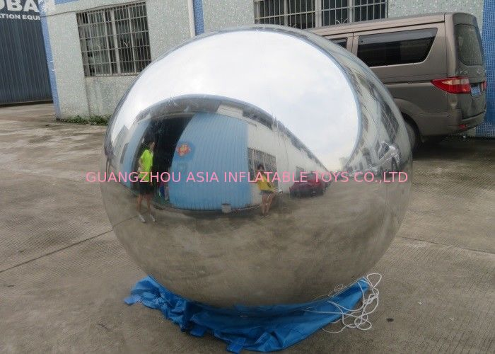 2m Silver Helium Balloon And Blimps Stage Decoration Ball For Fashion Show pemasok