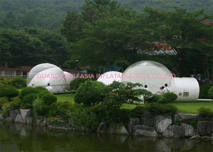 Simple And Beautiful Inflatable Transparent Camping Tent For Outdoors pemasok
