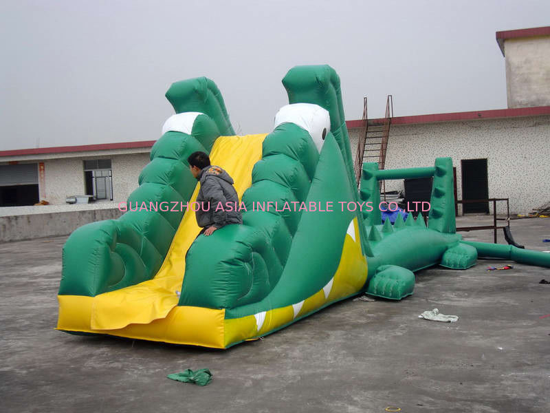 Aqua Floating Water Sports, Inflatable Crocodile Water Obstacle Course pemasok
