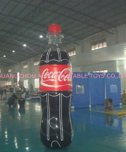 Giant Inflatable Coca Cola Bottle for Advertising / Display pemasok