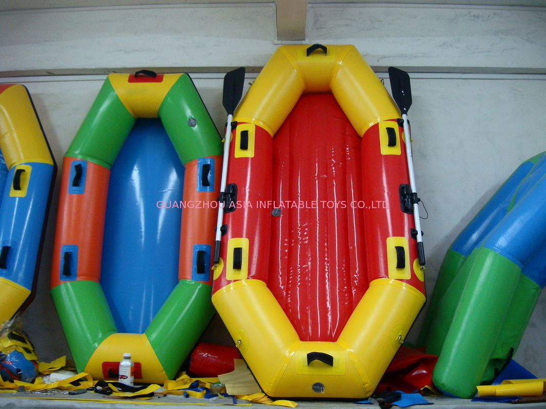 Customized 8 Foot Colorful Inflatable Fishing Boat for summer pemasok