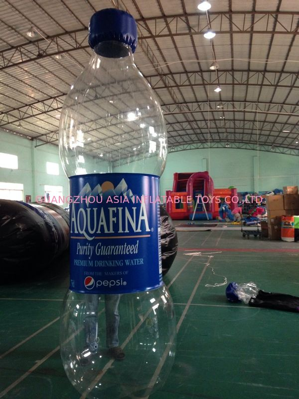 Commercial  Inflatable Advertising Water Bottle For Business Rental pemasok