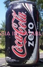 Life-Sized Coca cola PVC Inflatable Can / Tin  for Advertising pemasok
