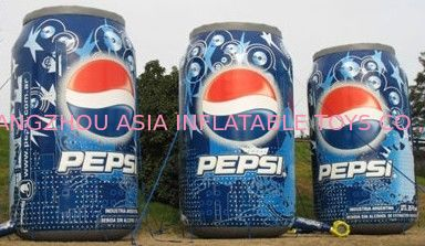 Event Inflatable Pepsi Can Replica Model pemasok