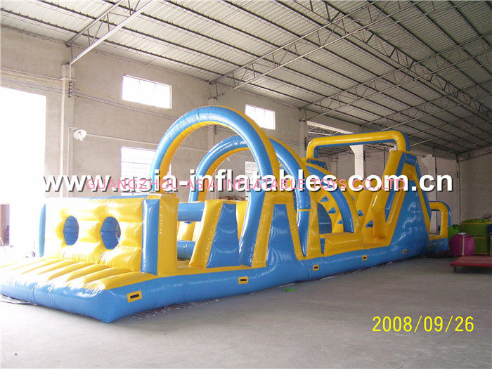 Outdoor Obstacle Course, Inflatable Softplay Games For Children pemasok