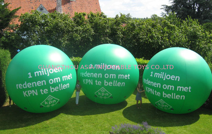 advertising inflatable helium balloon with digital printing pemasok