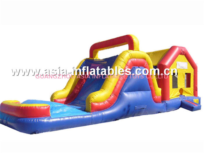 Double Slide Inflatable Combo,Inflatable slide For Sale pemasok