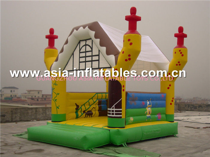 2014 new design advertising inflatable combo unit/promotion PVC inflatable jumping bouncer pemasok
