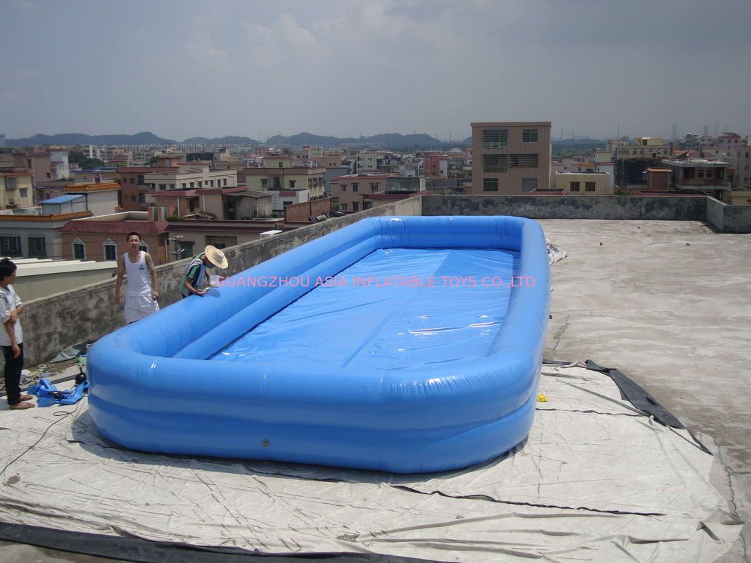 Lovely New Design Huge Commercial PVC Adults and Kids Inflatable Pool with Various Colours pemasok