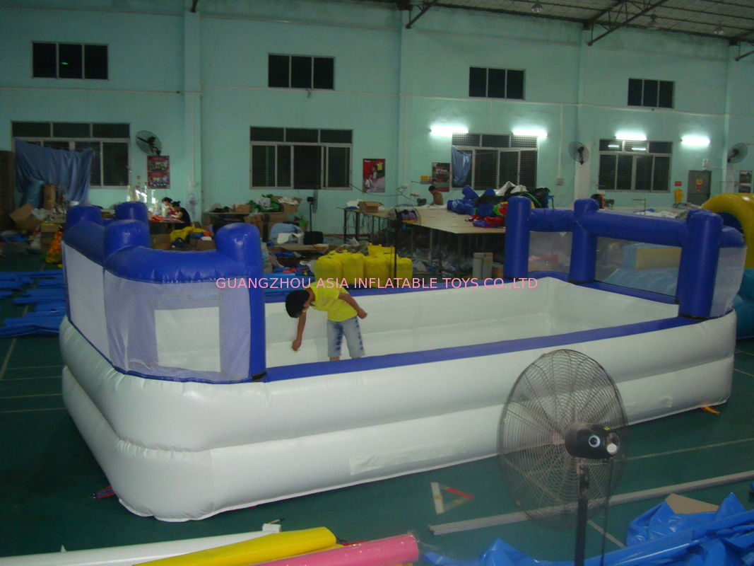 White Colour Kids Inflatable Pool with Back Walls pemasok