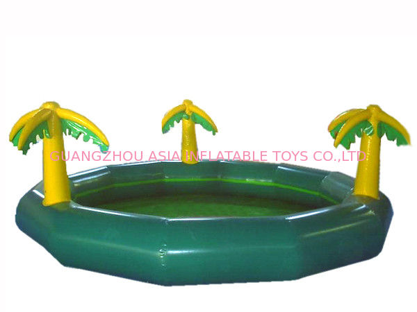 Homeusing Water Park Kids Inflatable Pool with Plam Trees pemasok