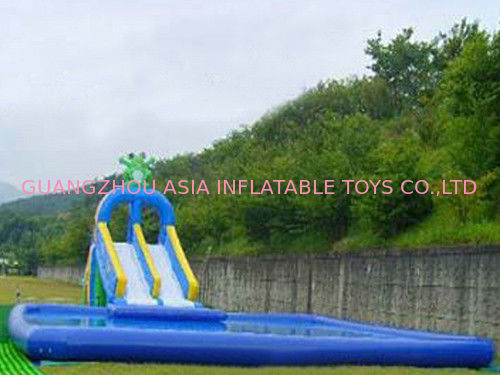 2014 Commercial Inflatable Water Park Kids Inflatable Pool with Slide for Outdoor Using pemasok