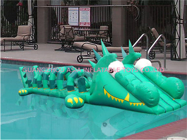 Commercial Use Inflatable Pool Slide, Inflatable Water Sports For Kids pemasok