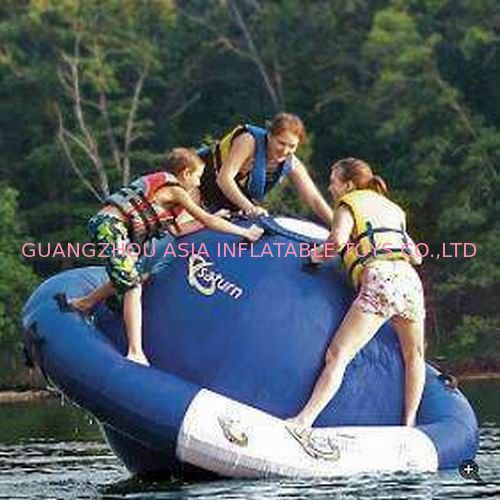 Inflatable Water Floating UFO For Water Park Amusment Sports Games pemasok