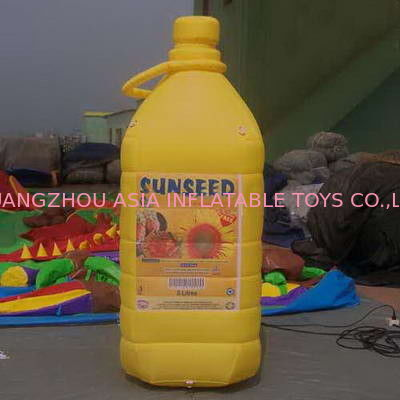 Sealed Inflatable Bottle / Replicate Model For Commercial Use pemasok