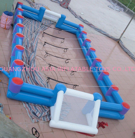 Safe Giant Soccer Field Inflatable Football Playground Indoor / Inflatable Soccer Field pemasok