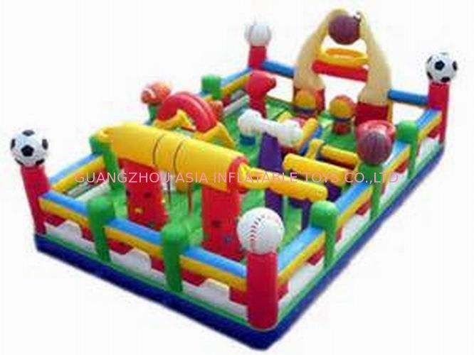 Hot Sale Inflatable Sports Funland / Inflatable Children Funcity pemasok