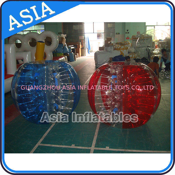 Commercial Funny Inflatable Body Zorbing Bumper 1.2m For Children Sport pemasok